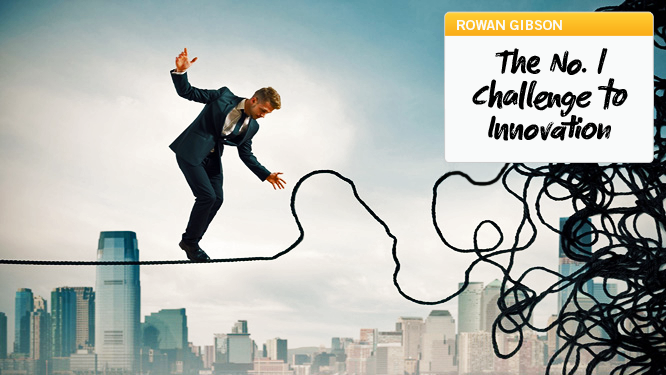 The No. 1 Challenge to Innovation